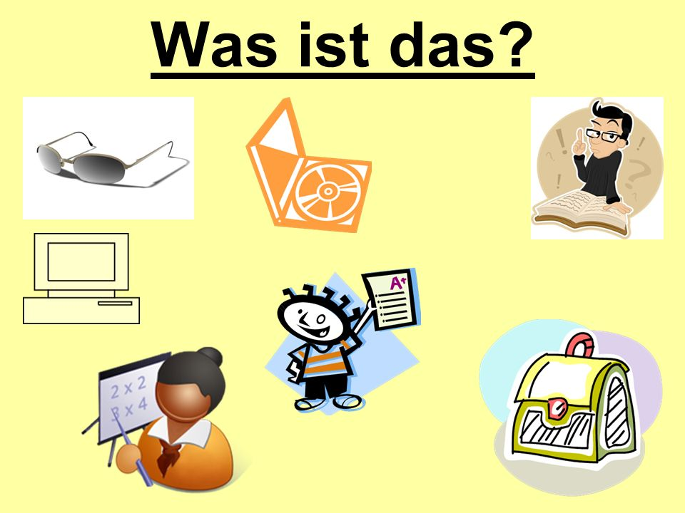 Guten Tag.Warm-up: In your note book, write the correct pronoun for each sentence.