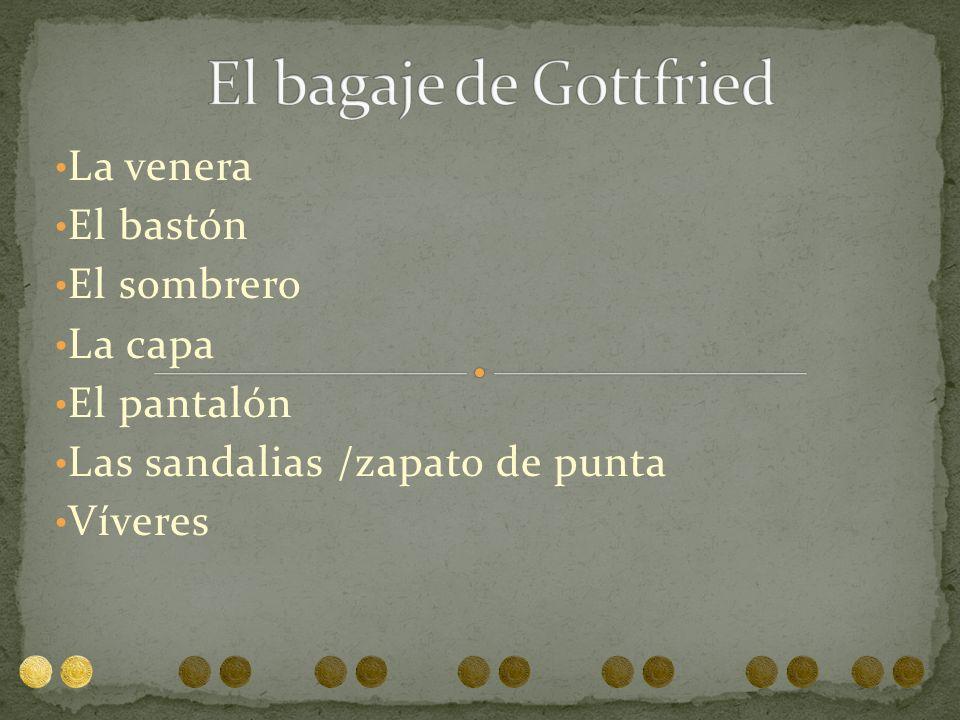 La concha del peregrino fue introducida después de la la muerte de Santiago para distinguir los peregrinos de otra gente Anteriormente, se utilizaron también para jarrear agua