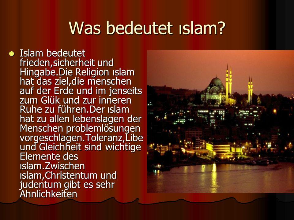 Was bedeutet ıslam.
