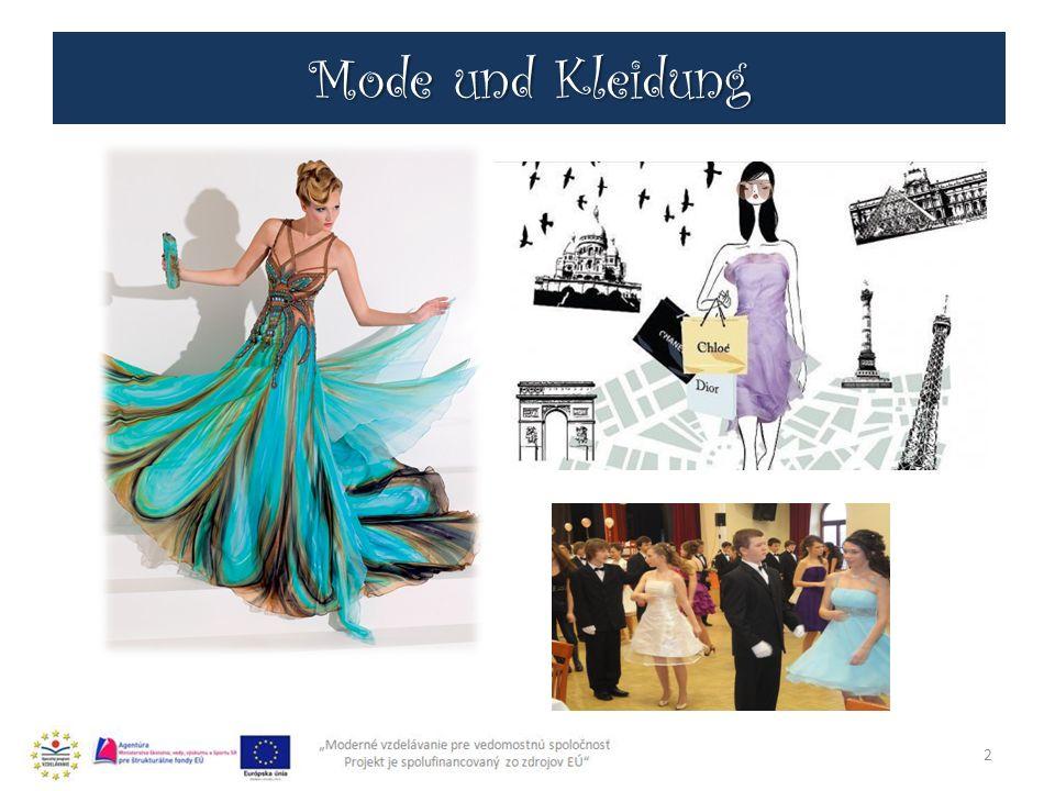 Mode und Kleidung 2