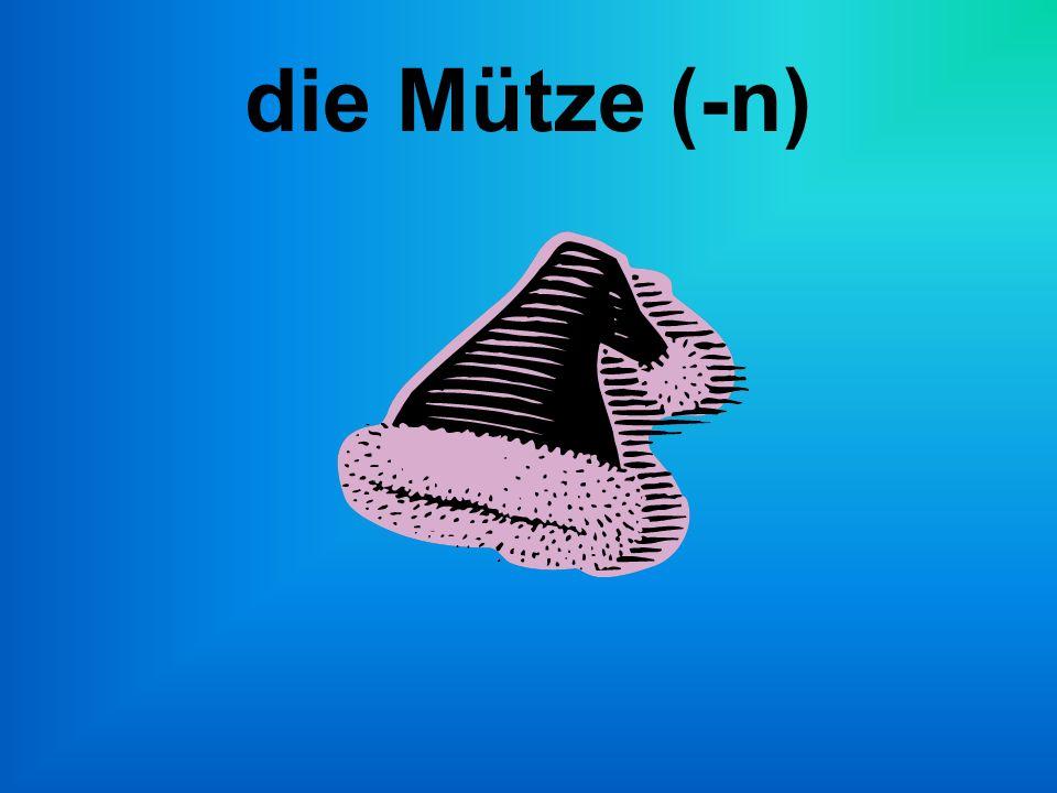 die Mütze (-n)
