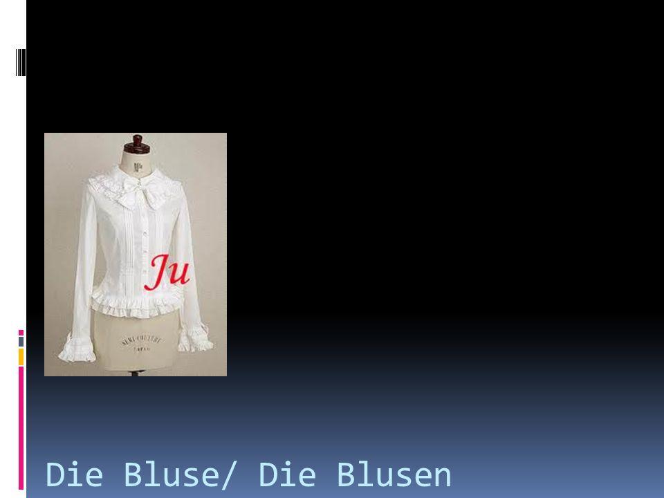 Die Bluse/ Die Blusen