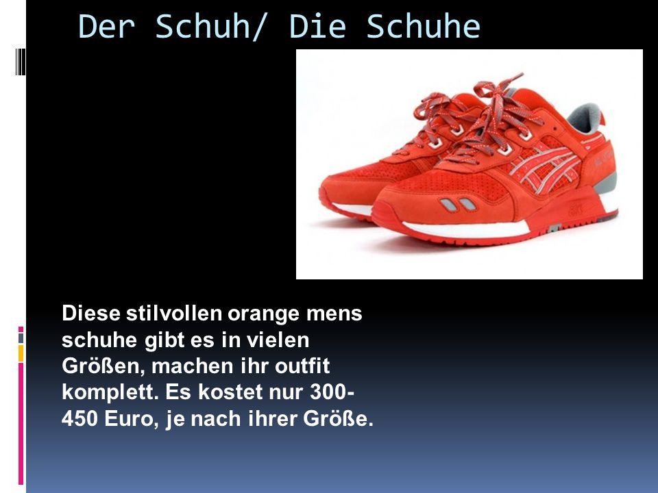 Der Schuh/ Die Schuhe Diese stilvollen orange mens schuhe gibt es in vielen Größen, machen ihr outfit komplett.
