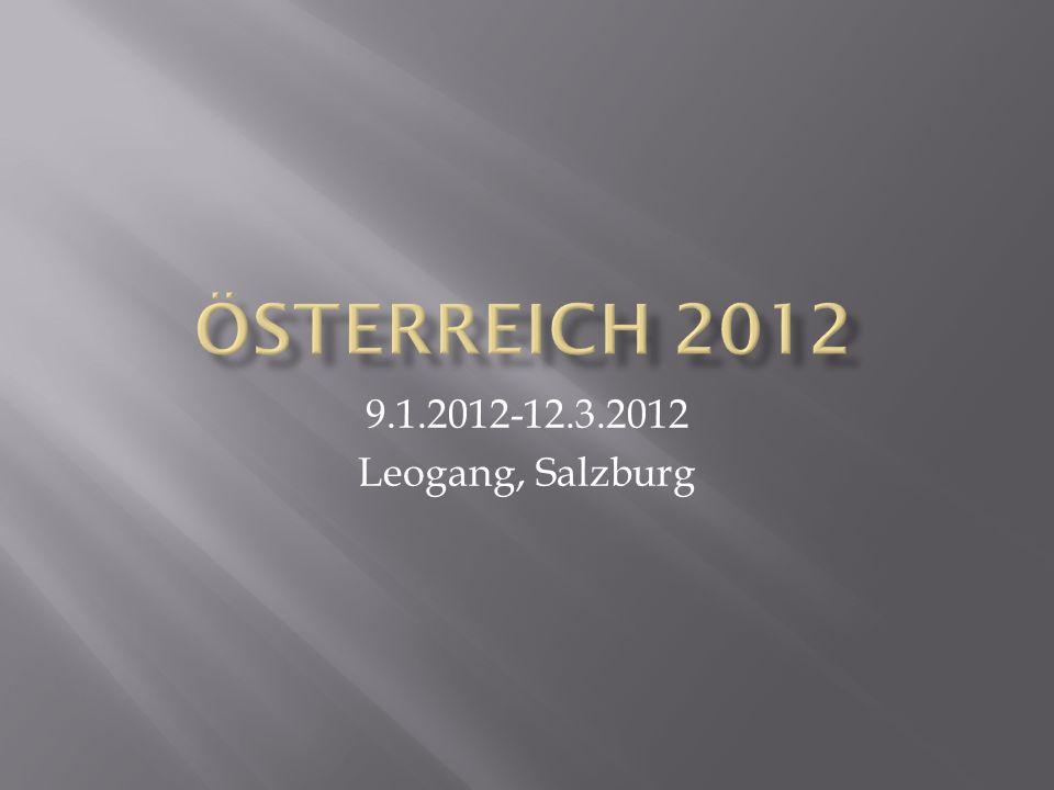9.1.2012-12.3.2012 Leogang, Salzburg