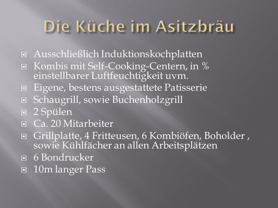 Ausschließlich Induktionskochplatten Kombis mit Self-Cooking-Centern, in % einstellbarer Luftfeuchtigkeit uvm.