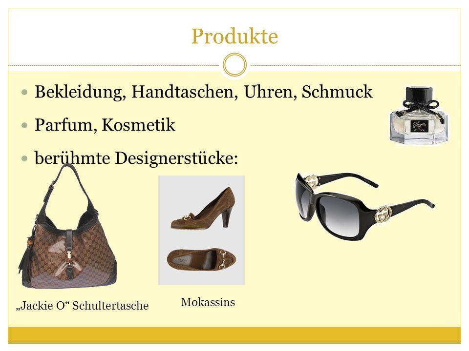 Produkte Bekleidung, Handtaschen, Uhren, Schmuck Parfum, Kosmetik berühmte Designerstücke: Jackie O Schultertasche Mokassins
