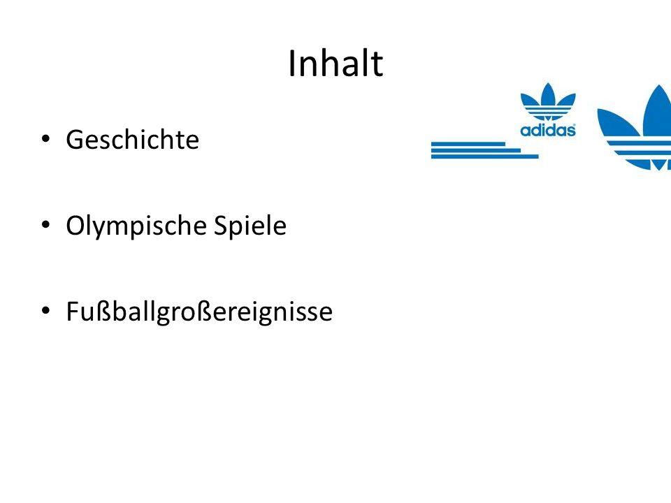 1984: Bei Olympia in Los Angeles tragen 124 von 140 Nationen adidas Produkte 1986: Erster offizieller Spielball aus Synthetik- Material bei der WM in Mexiko 1987: Horst Dassler stirbt