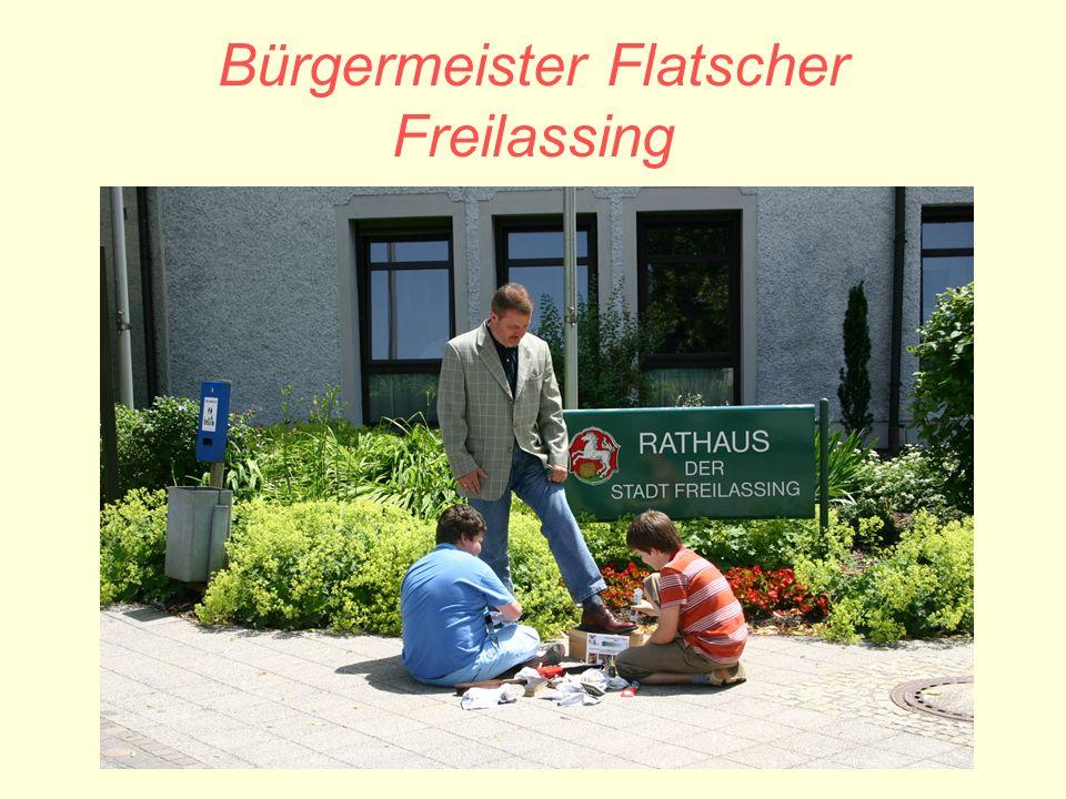 Bürgermeister Flatscher Freilassing