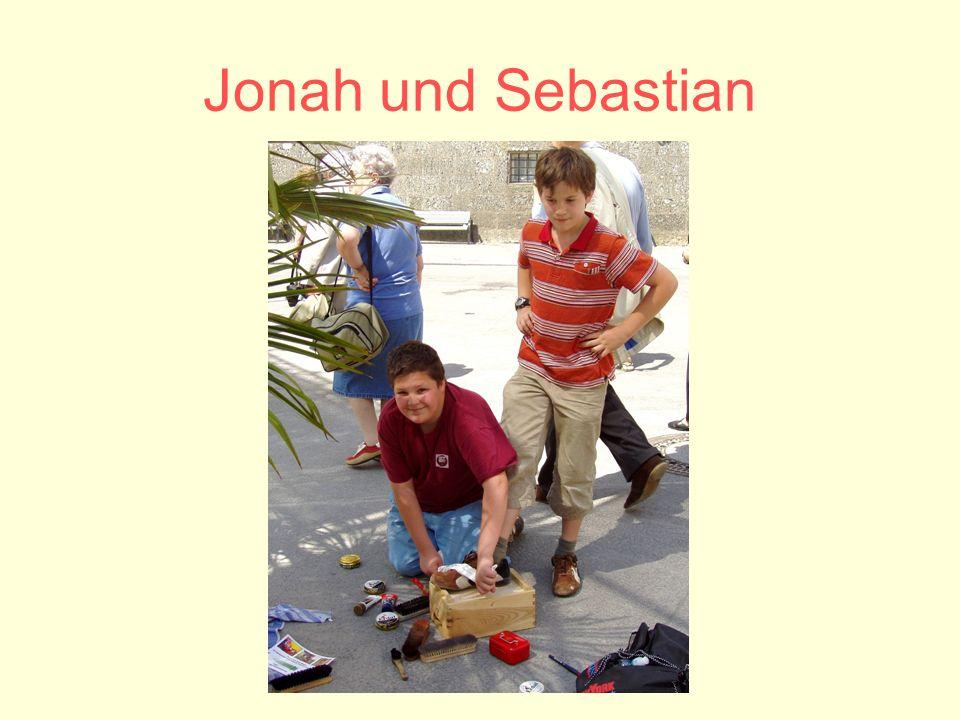 Jonah und Sebastian