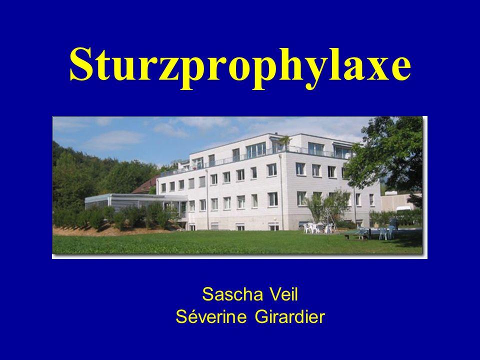 Sturzprophylaxe Sascha Veil Séverine Girardier
