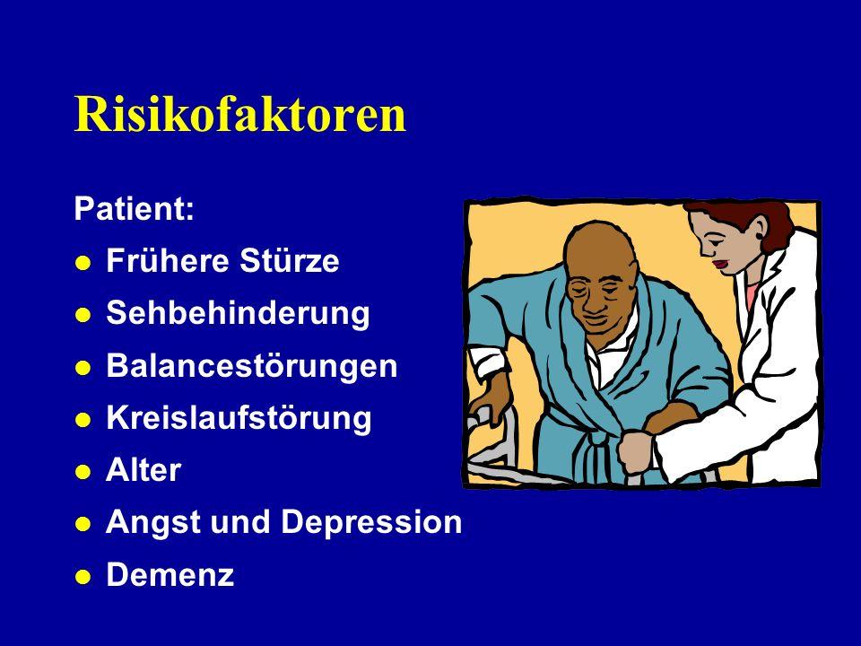 Wie erkenne ich einen Sturzpatienten? Sturzpatienten unterscheiden sich aufgrund ihres Risikoprofils von Senioren, die nicht stürzen.