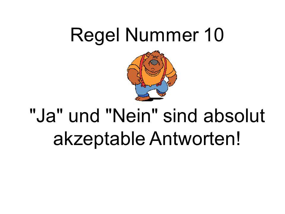 Regel Nummer 10