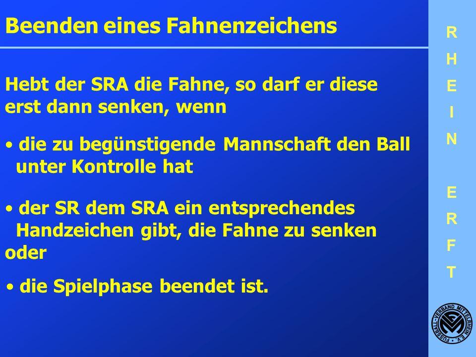 RHEINERFTRHEINERFT Regel 6 – Die Schiedsrichter-Assistenten