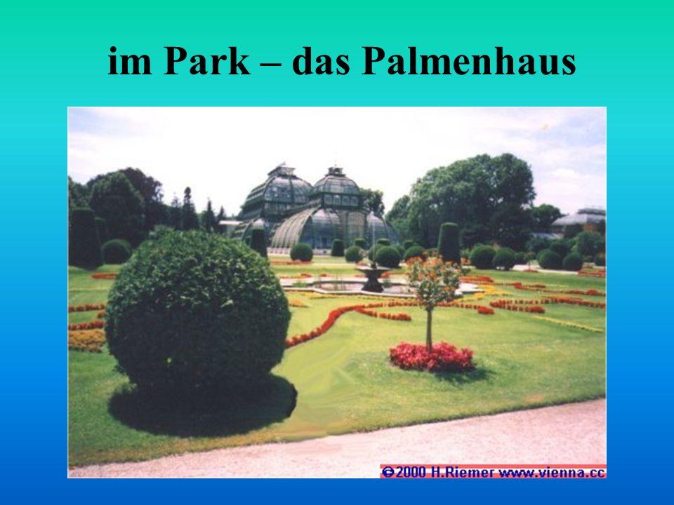 im Park – das Palmenhaus
