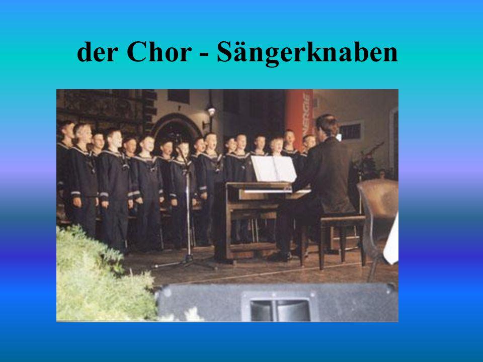 der Chor - Sängerknaben