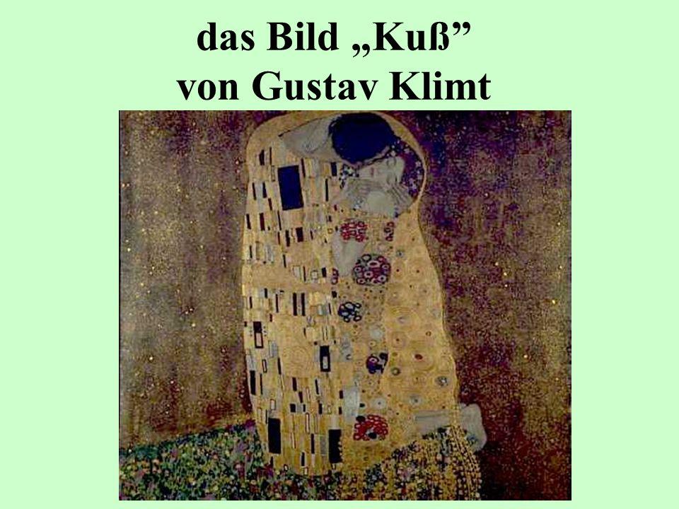 das Bild Kuß von Gustav Klimt