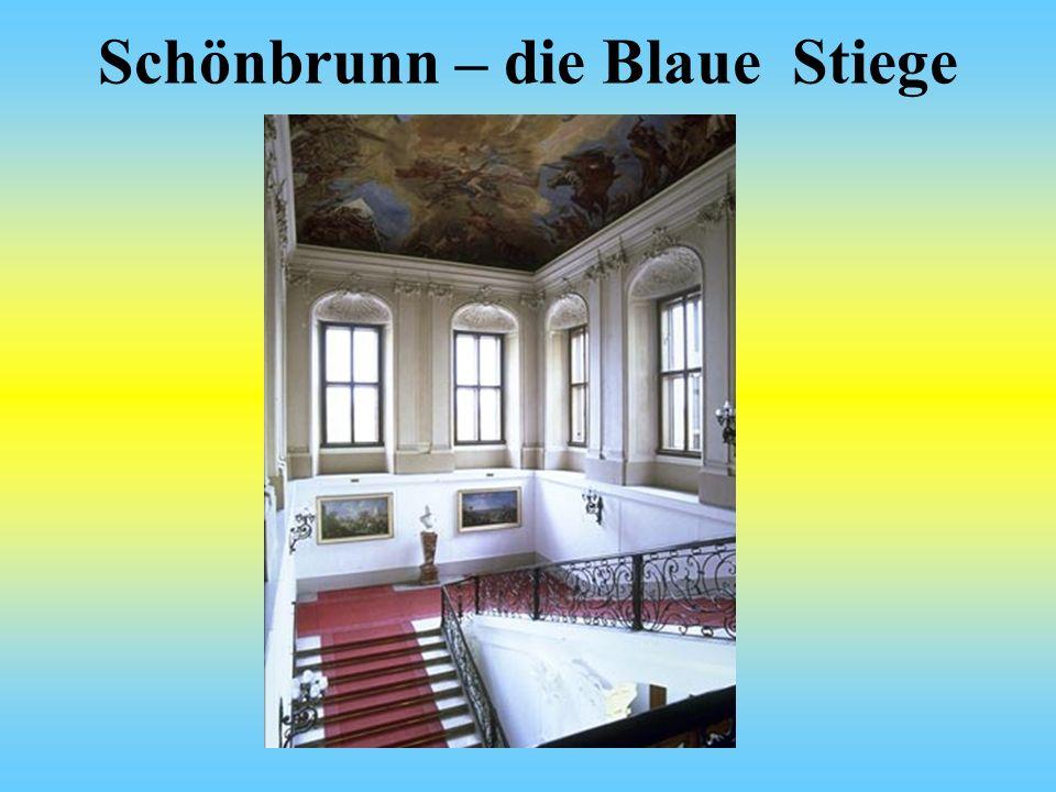 Schönbrunn – die Blaue Stiege