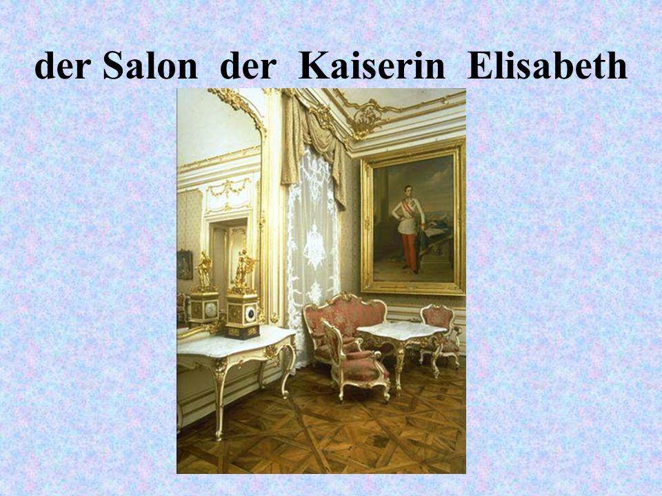 der Salon der Kaiserin Elisabeth