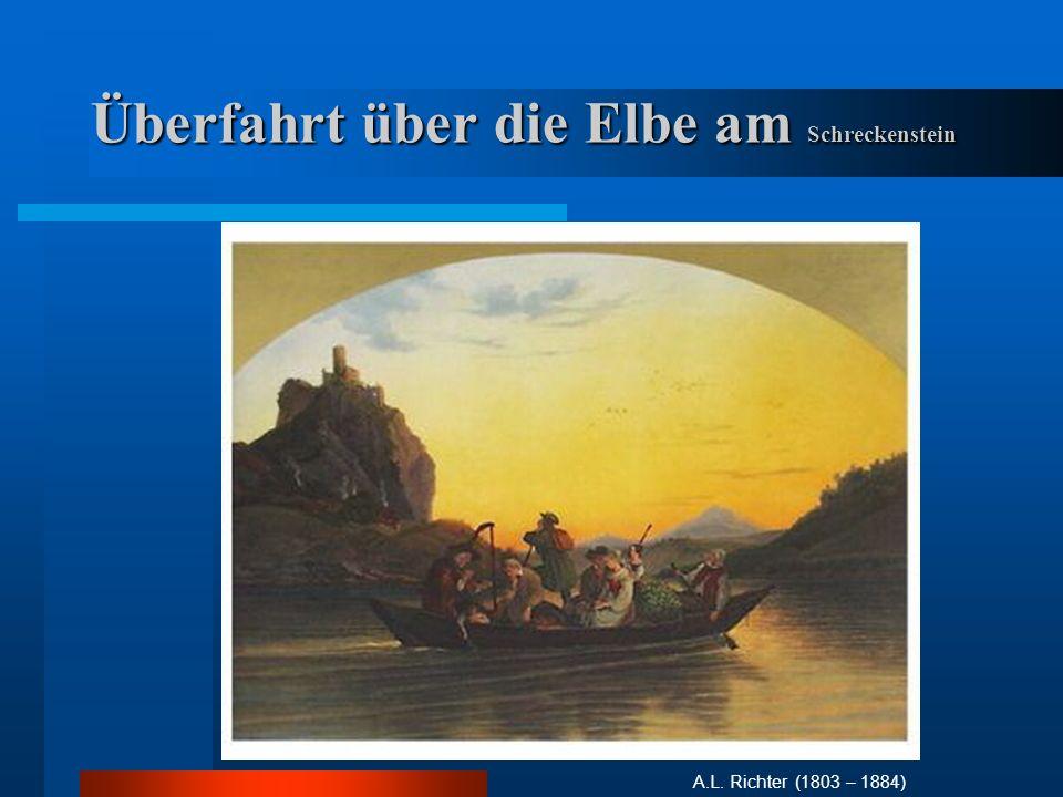 Bilder- u.Symbolwelt C.D. Friedrichs Aussenwelt / Natur / Streben nach der unendlichen Natur.