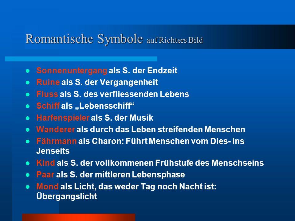 Ein Text – Ein Bild – Ein Lied Text: Johann Wolfgang von Goethe Bild: Caspar David Friedrich Lied: Franz Schubert Es existiert auch eine strophische Fassung des Komponisten C.F.