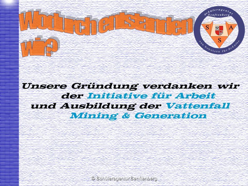 © Schüleragentur Senftenberg Stadt Senftenberg Agentur für Arbeit