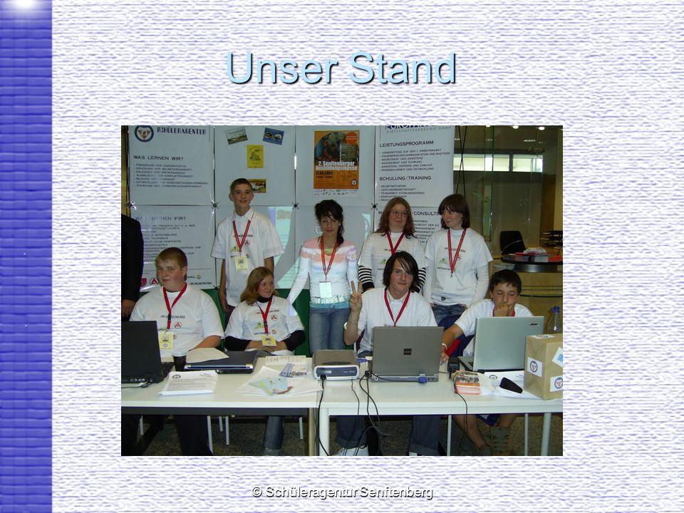 © Schüleragentur Senftenberg Unser Stand