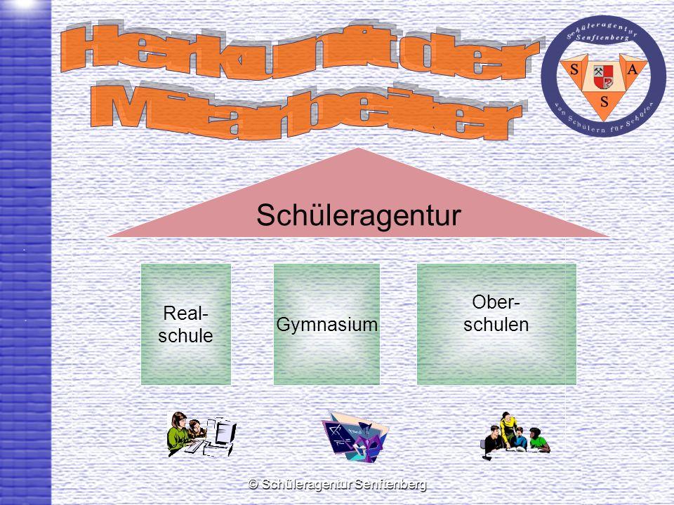 © Schüleragentur Senftenberg Schüleragentur Real- schule Gymnasium Ober- schulen