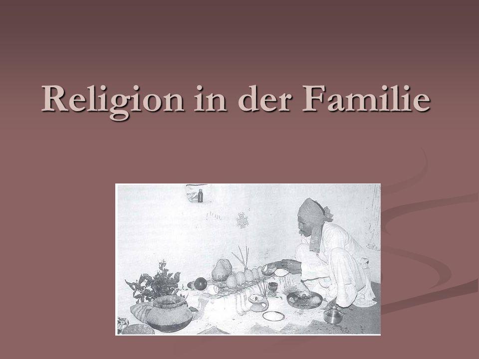 Religion in der Familie