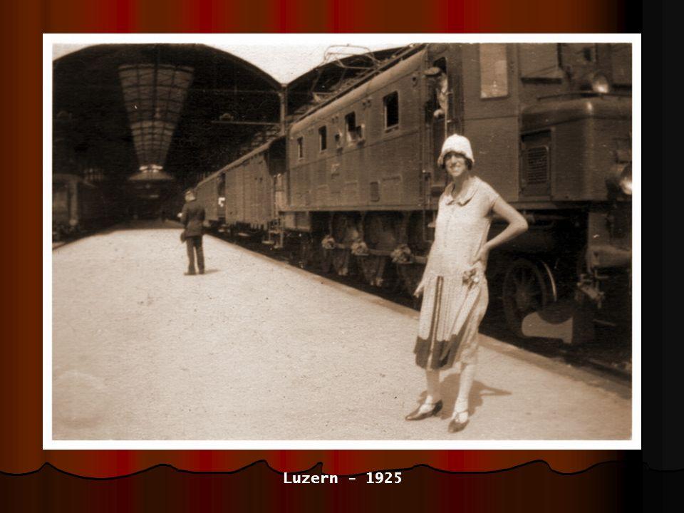 mit Vater und Mutter - 1925