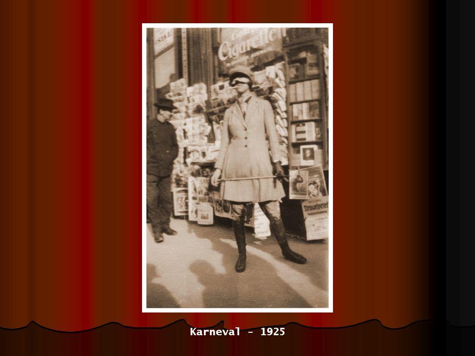 mit Bruder Albert und Freundin Gretel Sylvester 1925/26