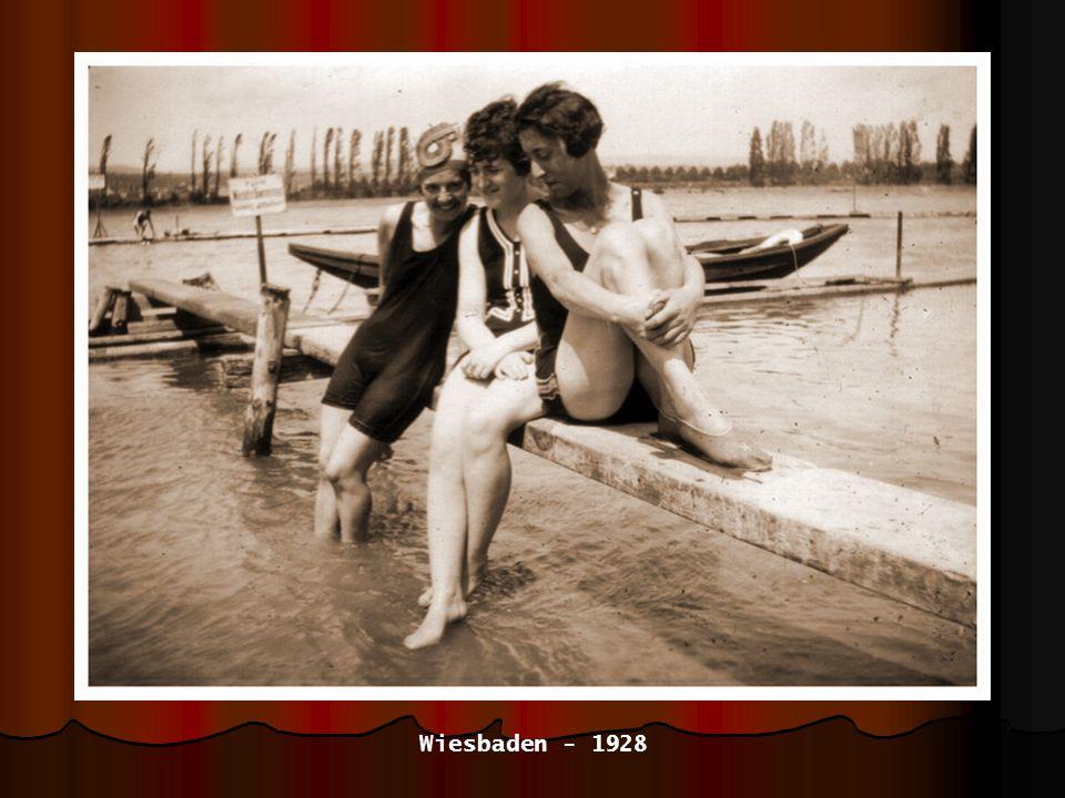 mit Freundin Gretel - 1928