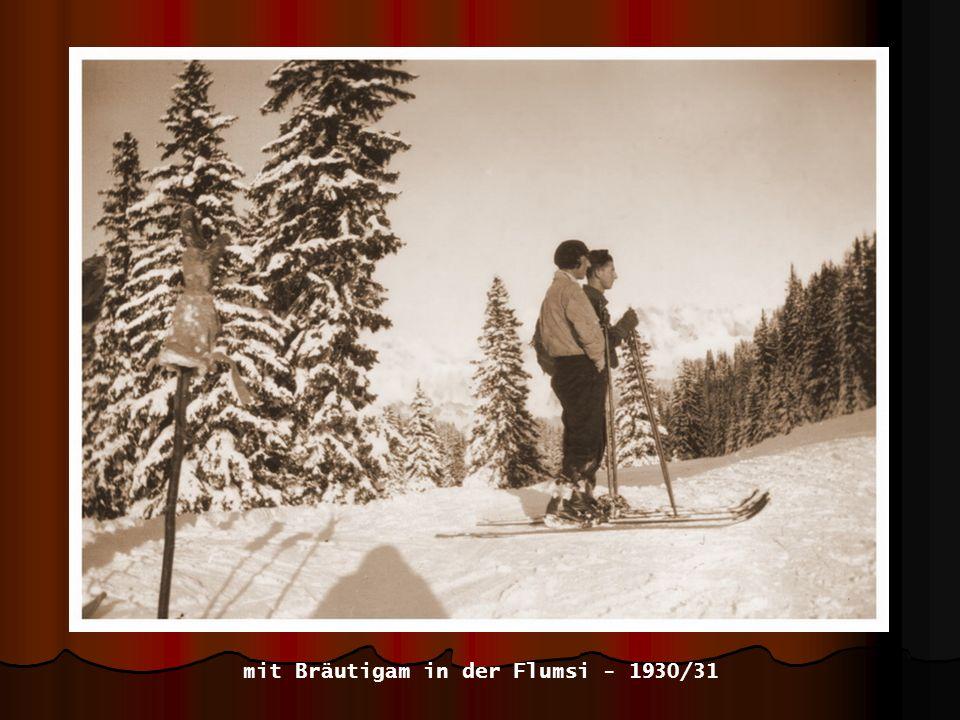 Flumserberg - 1930/31