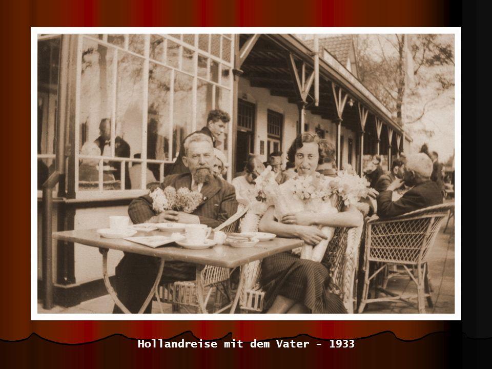 im Tulpenfeld in Holland - 1933