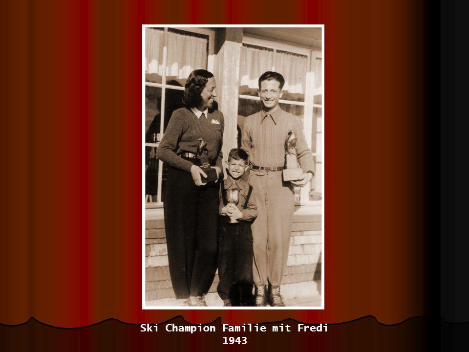 Mami mit ihren drei Kindern - 1954 Fredi, Hedy, José