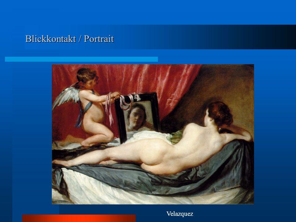 Blickkontakt / Portrait Velazquez