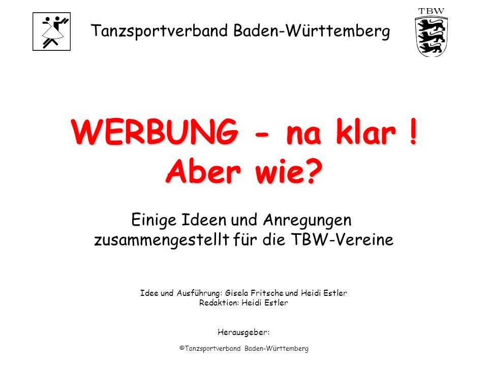 Tanzsportverband Baden-Württemberg ©Tanzsportverband Baden-Württemberg WERBUNG - na klar .
