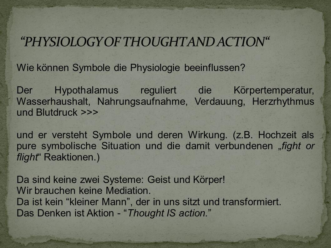 Wie können Symbole die Physiologie beeinflussen.
