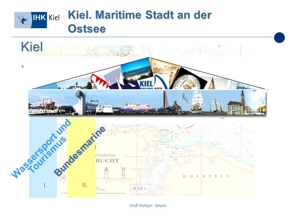 Wolf-Rüdiger Janzen Kiel. Maritime Stadt an der Ostsee I. II. Bundesmarine Kiel. Wassersport und Tourismus