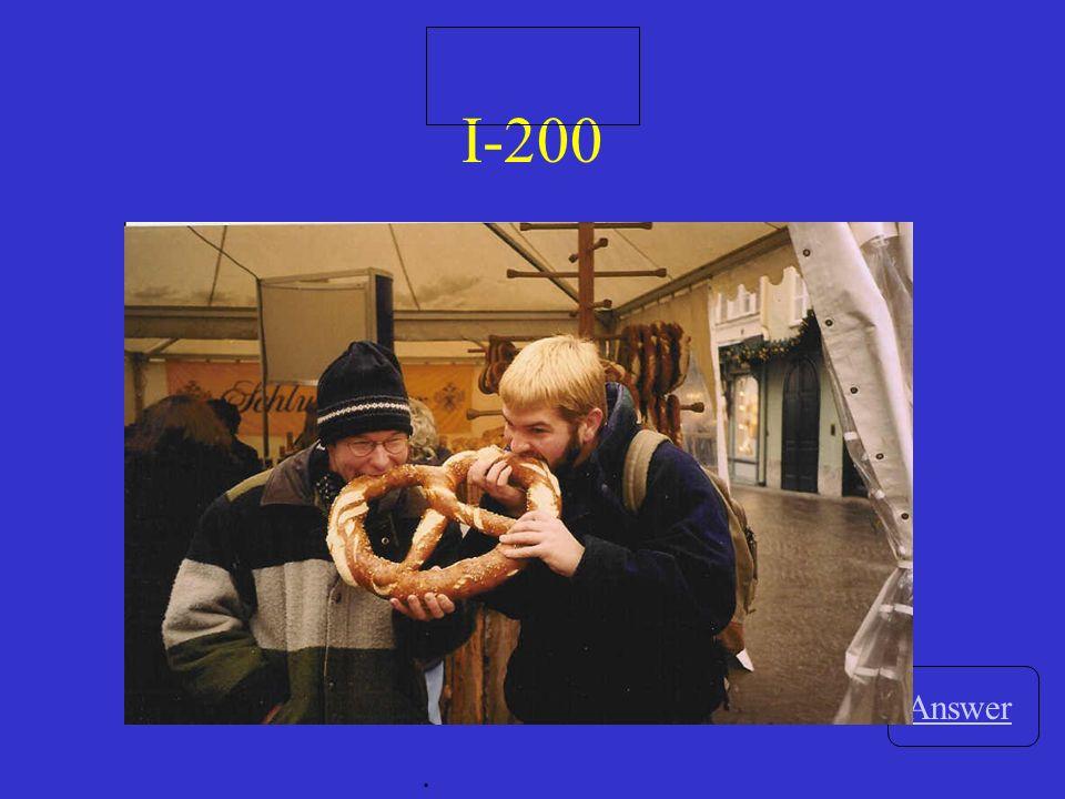III-200 Answer. Ein_____ nett______ Familie wohnt neben uns.