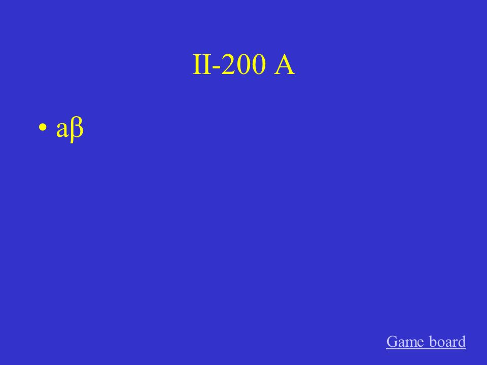 II-100 A habe getanzt Game board