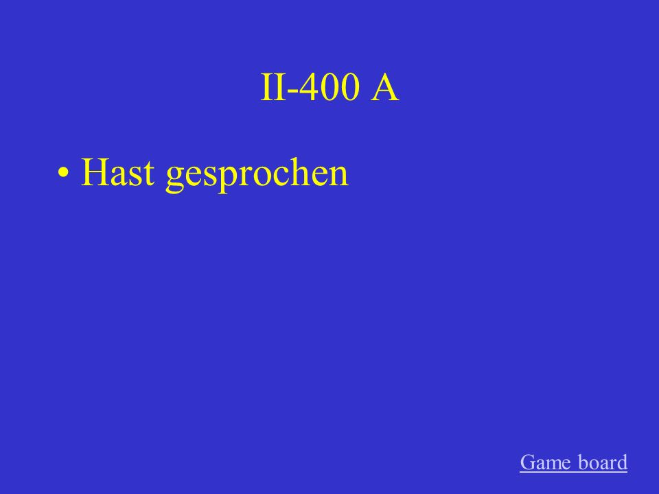 II-300 A feiern Game board