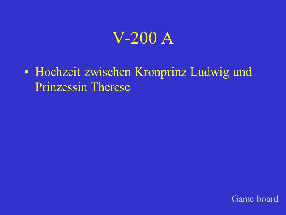 V-100 A 12. Oktober 1810 Game board