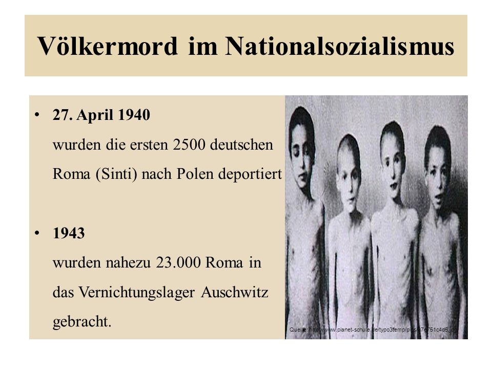 Völkermord im Nationalsozialismus 27.