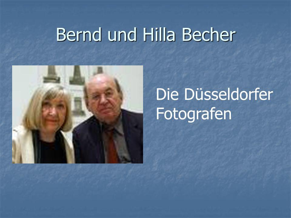 Bernd und Hilla Becher Die Düsseldorfer Fotografen