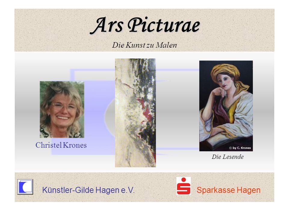 Künstler-Gilde Hagen e.V. Sparkasse Hagen Christel Krones Die Lesende Ars Picturae Ars Picturae Die Kunst zu Malen