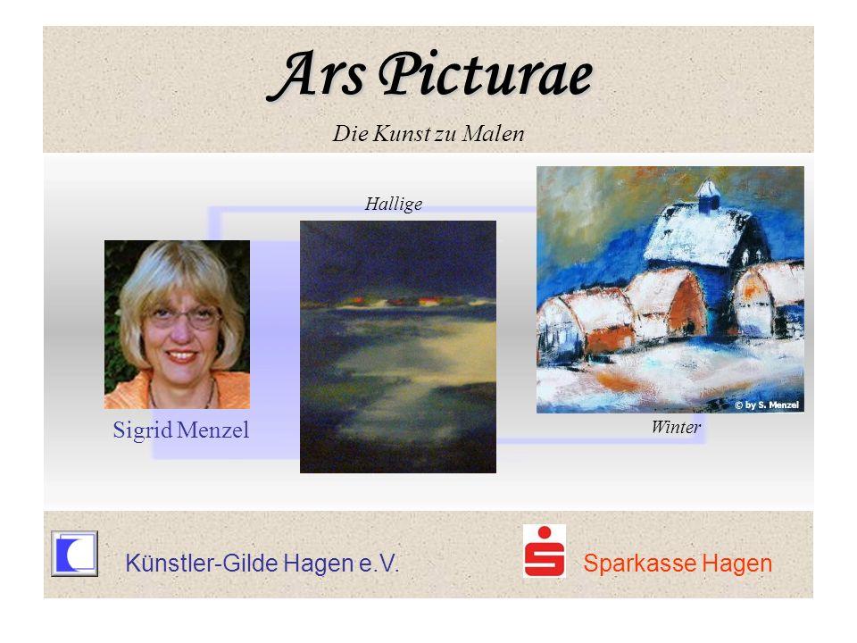 Künstler-Gilde Hagen e.V. Sparkasse Hagen Hallige Sigrid Menzel Winter Ars Picturae Ars Picturae Die Kunst zu Malen