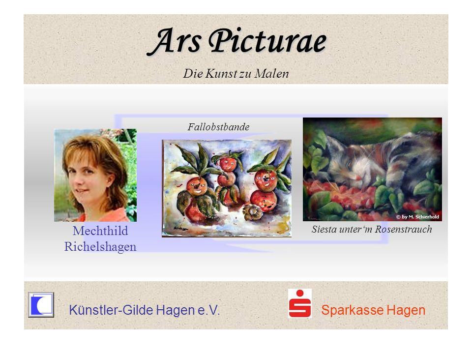 Ars Picturae Ars Picturae Die Kunst zu Malen Fallobstbande Mechthild Richelshagen Siesta unterm Rosenstrauch Ars Picturae Ars Picturae Die Kunst zu Ma