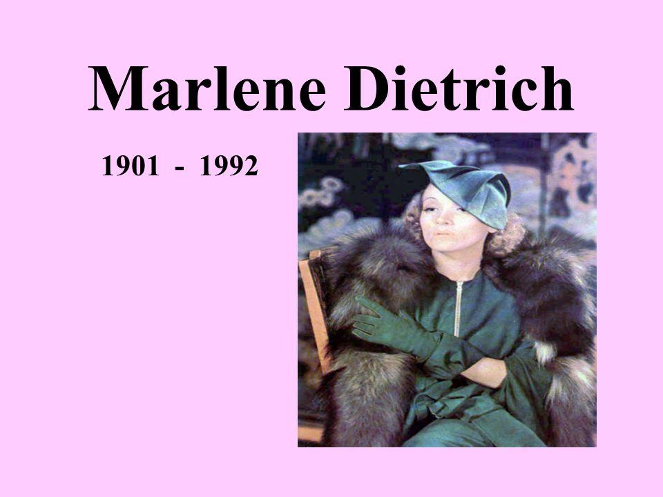 Inhalt Über die Person Einiges aus ihrer Biographie Der erste grosse Erfolg Dietrich und Amerika Dietrich und Deutschland Ihre populärsten Lieder