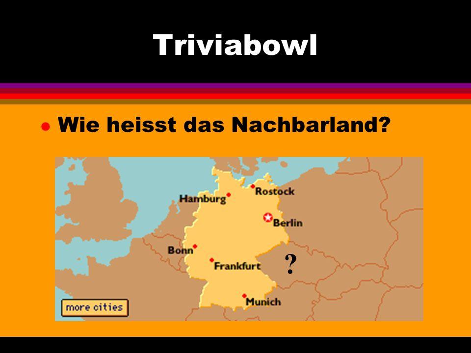 Triviabowl l Wie heisst dieses Fest in Koeln?