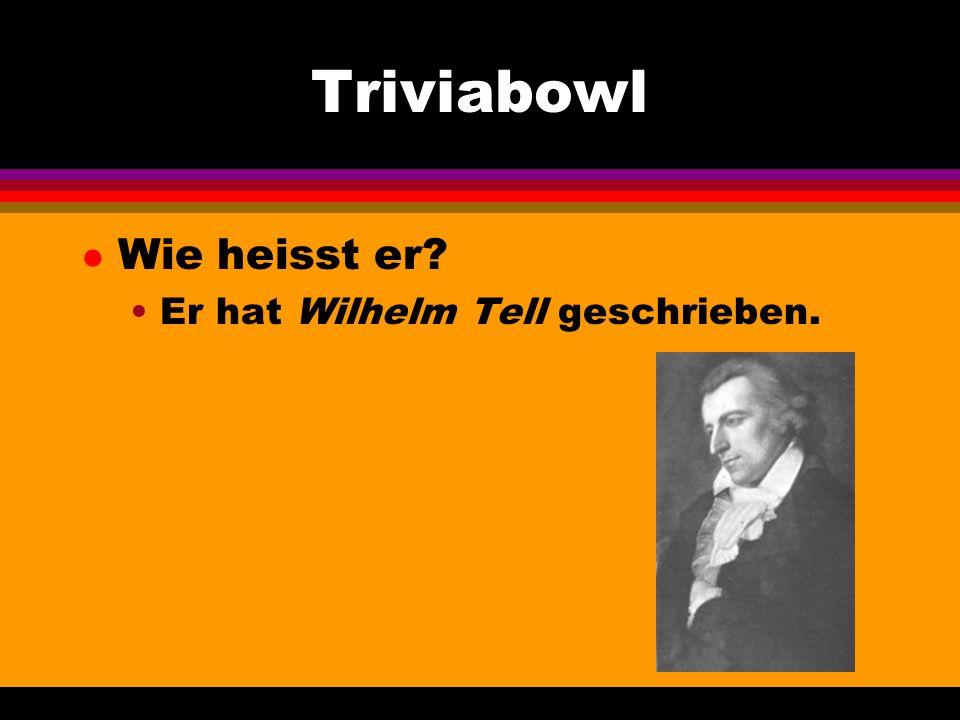 Triviabowl l Wie nennt man das auf deutsch?